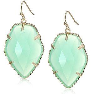 Kendra Scott Corley earrings in Chalcedony EUC